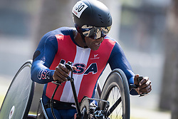 de los SANTOS Alfredo, USA, H5, Cycling, Time-Trial at Rio 2016 Paralympic Games, Brazil