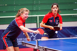 NORWAY (DAHLEN Aida, TVEITEN Merethe and KORNELIUSSEN Nora) during day 4 of 15th EPINT tournament - European Table Tennis Championships for the Disabled 2017, at Arena Tri Lilije, Lasko, Slovenia, on October 1, 2017. Photo by Ziga Zupan / Sportida