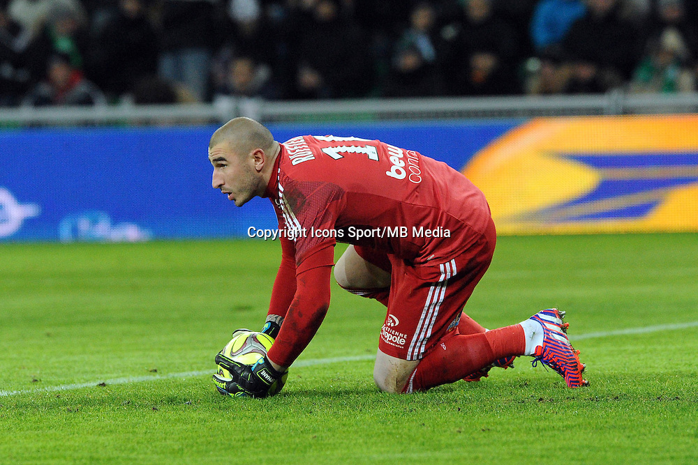 Stephane RUFFIER - 25.01.2015 - Saint Etienne / PSG  - 22eme journee de Ligue1<br />Photo : Jean Paul Thomas / Icon Sport