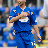St Johnstone FC Season 2009-10<br /> Peter MacDonald<br /> Picture by Graeme Hart.<br /> Copyright Perthshire Picture Agency<br /> Tel: 01738 623350  Mobile: 07990 594431
