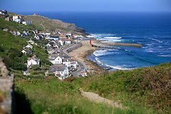 UK CORNWALL SENNEN COVE 10JUN08 - General view of  Sennen Cove in Cornwall, western England...jre/Photo by Jiri Rezac / WWF UK..© Jiri Rezac 2008..Contact: +44 (0) 7050 110 417.Mobile:  +44 (0) 7801 337 683.Office:  +44 (0) 20 8968 9635..Email:   jiri@jirirezac.com.Web:    www.jirirezac.com..© All images Jiri Rezac 2008 - All rights reserved.