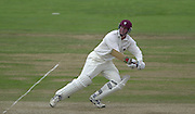 Photo Peter Spurrier.31/08/2002.Cheltenham & Gloucester Trophy Final - Lords.Somerset C.C vs YorkshireC.C..Somerset batting Keith Parsons