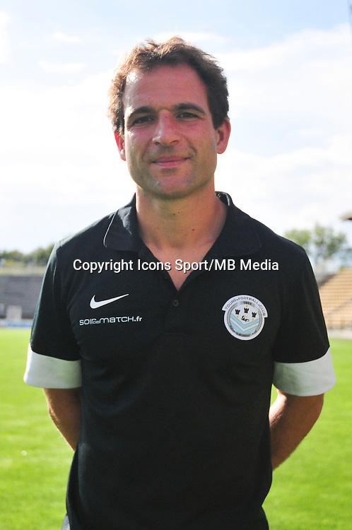Pierre Bazin - 20.09.2014 - Photo officielle - Tours - Ligue 2<br /> Photo : Philippe Le Brech / Icon Sport