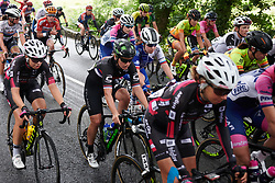 Jelena Eric (SRB) in the main group at OVO Energy Women's Tour 2018 - Stage 5, a 122 km road race from Dolgellau to Colwyn Bay, United Kingdom on June 17, 2018. Photo by Sean Robinson/velofocus.com