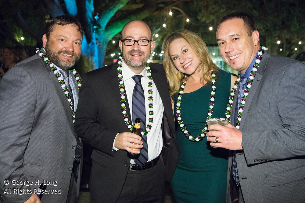 Alfasigma sales conference party and awards ceremony at Mardi Gras World on April 5, 2017