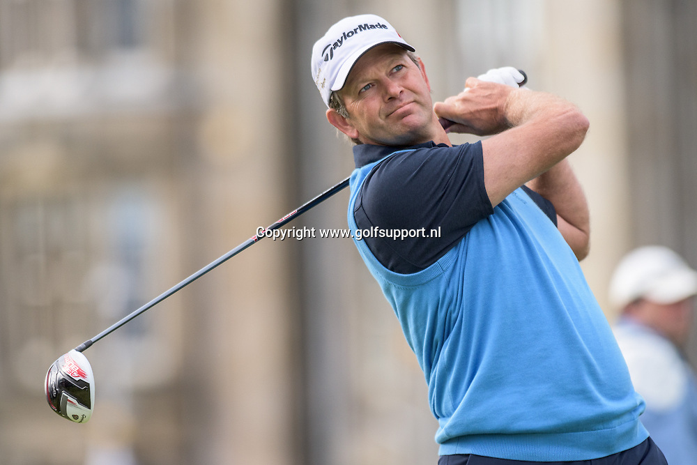 16-07-15 European Tour 2015, 144th OPEN CHAMPIONSHIP, Old Course, St. Andrews, Fife, Scotland, UK. 16 - 19 Jul.  Retief  Goosen of South Africa during the first round.