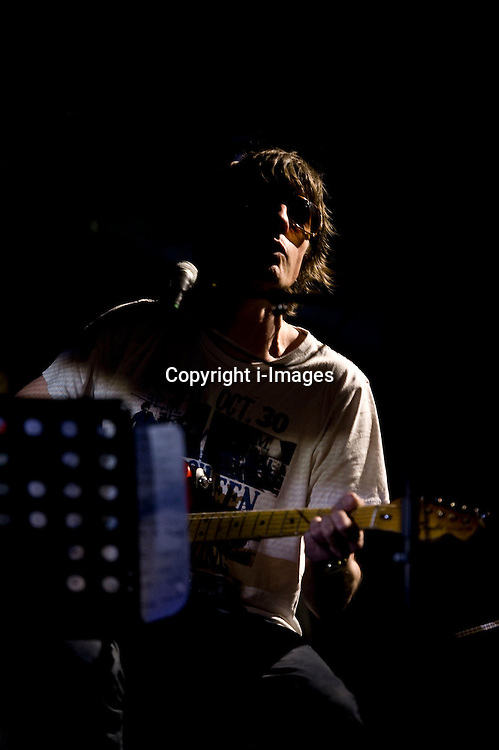 Spiritualized frontman Jason Pierce at the Cambridge Junction on Friday night, November 2, 2012. Photo by i-Images.