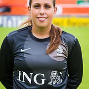 NLD/Velsen/20130701 - Selectie Nederlands Dames voetbal Elftal, Angela Christ