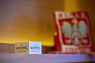 Warsaw, Poland - 2018 June 12: Novotel Football Night at Novotel Hotel on June 12, 2018 in Warsaw, Poland.<br /> <br /> Adam Nurkiewicz declares that he has no rights to the image of people at the photographs of his authorship.<br /> <br /> Picture also available in RAW (NEF) or TIFF format on special request.<br /> <br /> Any editorial, commercial or promotional use requires written permission from the author of image.<br /> <br /> Image can be used in the press when the method of use and the signature does not hurt people on the picture.<br /> <br /> Mandatory credit:<br /> Photo by © Adam Nurkiewicz / Mediasport