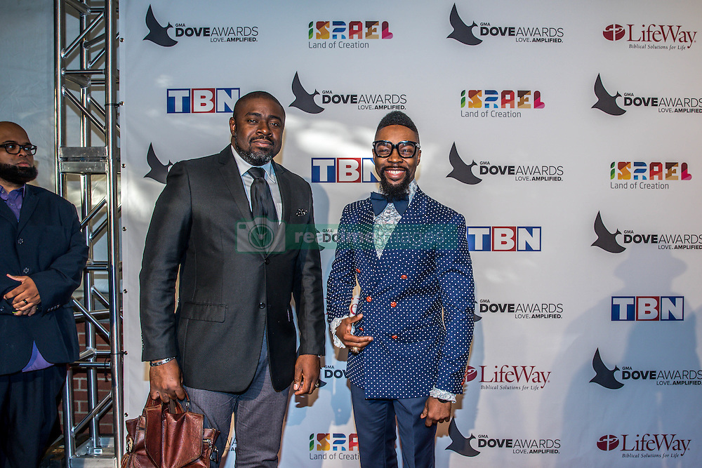 October 11, 2016 - Nashville, Tennessee, USA - James Hall at the 47th Annual GMA Dove Awards  in Nashville, TN at Allen Arena on the campus of Lipscomb University.  The GMA Dove Awards is an awards show produced by the Gospel Music Association. (Credit Image: © Jason Walle via ZUMA Wire)