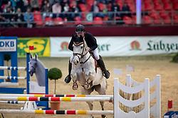 BORCHERT Max-Hilmar (GER), Las Vegas 208<br /> Neustadt-Dosse - CSI 2019<br /> 2. Qualifikation Youngster Tour für 7 und 8 jährige Pferde<br /> 11. Januar 2019<br /> © www.sportfotos-lafrentz.de/Stefan Lafrentz