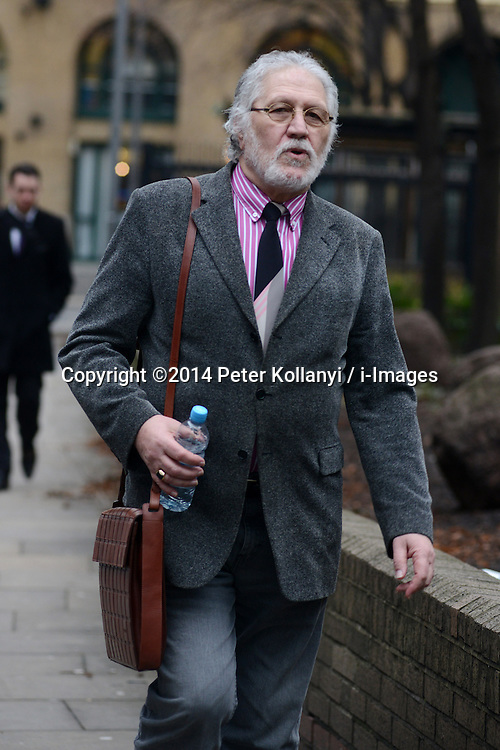 Dave Lee Travis Southwark. Dave Lee Travis (David Patrick Griffin), former Radio One DJ arrives at Southwark Crown Court.Southwark Crown Court, London, United Kingdom. Thursday, 6th February 2014. Picture by Peter Kollanyi / i-Images