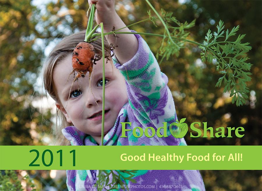 Cover for FoodShare 2011 calendar