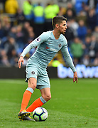 Jorginho (5) of Chelsea during the Premier League match between Cardiff City and Chelsea at the Cardiff City Stadium, Cardiff, Wales on 31 March 2019.