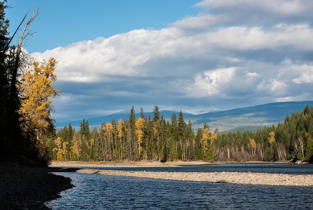 North Thompson River Provincial Park. This is the location where the (green) Coldwater River, joins the (muddy brown) Thompson River. Immediately north of this point the proposed Kinder Morgan Trans Mountain Pipeline would cross the Clearwater River within the Provincial Park.