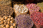 Spices in The Spice Souk in Deira, in Dubai