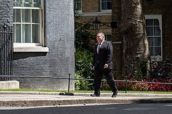 © Licensed to London News Pictures. 21/07/2020. London, UK. US Secretary of State Mike Pompeo arrives on Downing Street. Photo credit: Rob Pinney/LNP