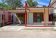House in Mariel, Artemisa, Cuba.