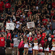 10 December 2016: The San Diego State Aztecs men's basketball team host's Saturday afternoon at Viejas Arena. The Aztecs fell to the Sun Devils 74-63. www.sdsuaztecphotos.com