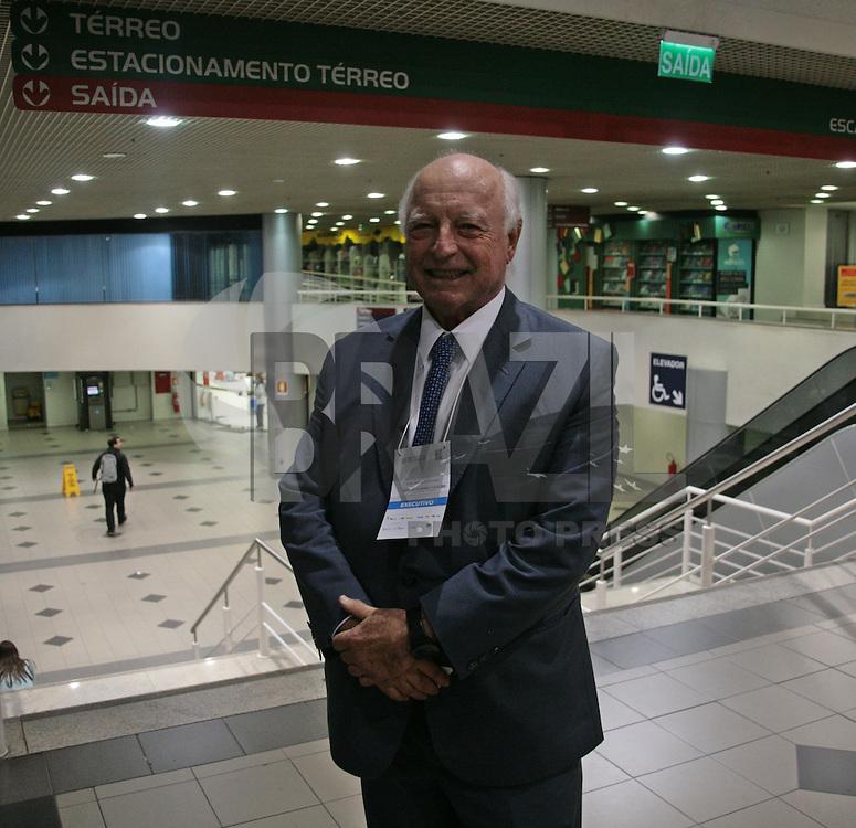 PORTO ALEGRE, RS, 11.04.2016 - GUERDAU - Jorge Gerdau Johannpeter na saida do Forum da liberdade em porto alegre segunda-feira, 11 . (Foto: Naian Meneghetti /Brazil Photo Press)