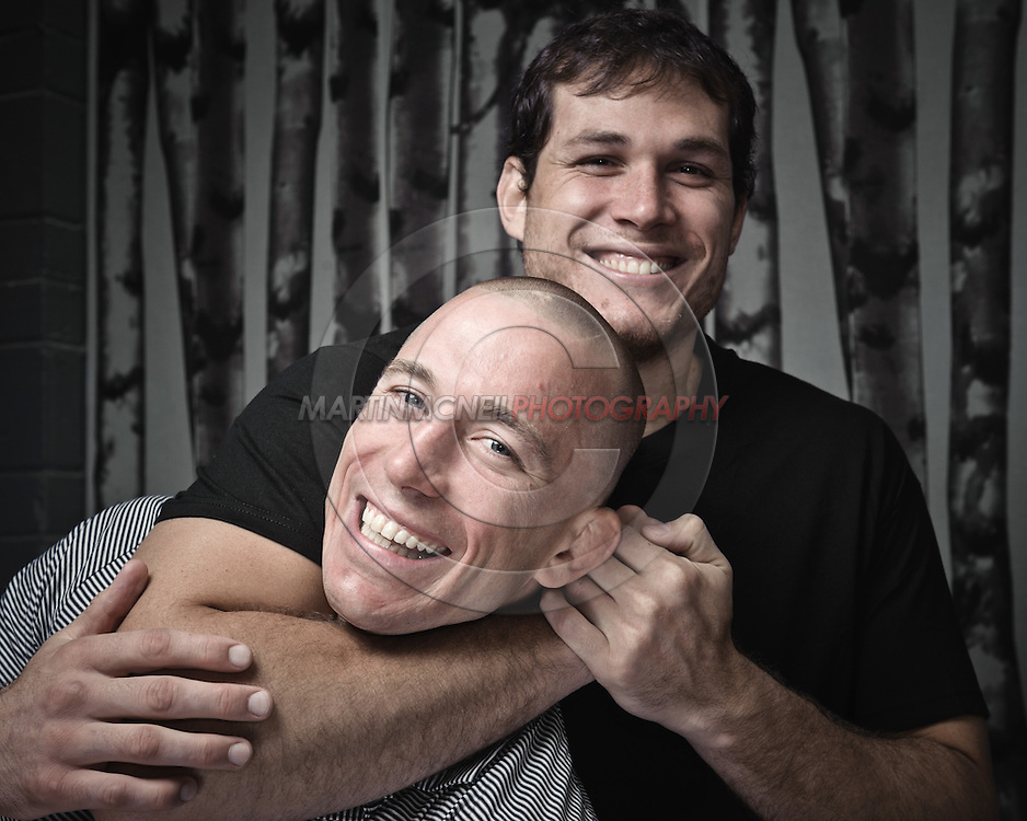 Georges St. Pierre and Roger Gracie