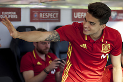 October 6, 2017 - Alicante, Spain - Marc Bartra during the qualifying match for the World Cup Russia 2018 between Spain and Albaniaat the Jose Rico Perez stadium in Alicante, Spain on October 6, 2017. (Credit Image: © Jose Breton/NurPhoto via ZUMA Press)