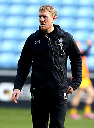 Backs Coach for Worcester Warriors Sam Vesty  - Mandatory by-line: Robbie Stephenson/JMP - 13/11/2016 - RUGBY - Ricoh Arena - Coventry, England - Wasps v Worcester Warriors  - Anglo Welsh Cup