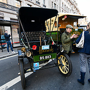 Regent Street Motor Show over 100 veteran cars display in London, UK. 3 November 2018. Credit: Picture Capital