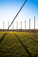 DEU, Germany, North Rhine-Westphalia, Ruhr area, Castrop-Rauxel, sundial on the heap Schwerin.<br /> <br /> DEU, Deutschland, Nordrhein-Westfalen, Ruhrgebiet, Castrop-Rauxel, Sonnenuhr auf der Halde Schwerin.