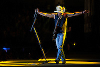 Country singer Kenny Chesney performs in Texas,