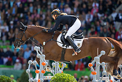 Sandra Auffarth, (GER), Opgun Louvo - Jumping Eventing - Alltech FEI World Equestrian Games™ 2014 - Normandy, France.<br /> © Hippo Foto Team - Leanjo De Koster<br /> 31-08-14