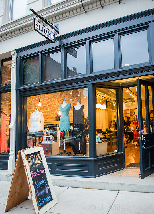 Sloane Clothing Store in Over the Rhine