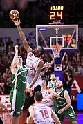 Reynolds Jalen<br /> Grissin Bon Reggio Emilia - Sidigas Avellino<br /> Lega Basket Serie A 2017/2018<br /> Reggio Emiali, 20/01/2018<br /> Foto Ciamillo - Castoria