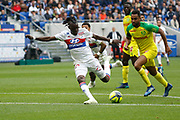 Traore Bertrand of Lyon during the French Championship Ligue 1 football match between Olympique Lyonnais and FC Nantes on April 28, 2018 at Groupama Stadium in Décines-Charpieu near Lyon, France - Photo Romain Biard / Isports / ProSportsImages / DPPI