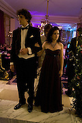 KATHLEEN KENNEDY AND COMPTE PIERRE DE PAHLEN, Crillon Debutante Ball 2007,  Crillon Hotel Paris. 24 November 2007. -DO NOT ARCHIVE-© Copyright Photograph by Dafydd Jones. 248 Clapham Rd. London SW9 0PZ. Tel 0207 820 0771. www.dafjones.com.