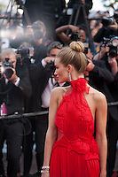 Rosie Huntington-Whiteley at the gala screening for the film The Unknown Girl (La Fille Inconnue) at the 69th Cannes Film Festival, Wednesday 18th May 2016, Cannes, France. Photography: Doreen Kennedy