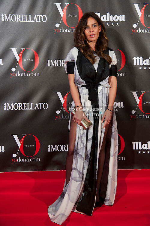 Blanca Marsillach attends 'Yo Dona' Magazine's Mask Party at Casino on 18 February, 2013 in Madrid