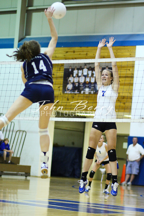 MCHS Varsity Volleyball .vs Fluvanna .9/8/09
