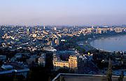 Azerbaijan: View of Baku on the Caspian Sea