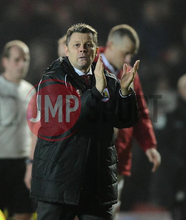 Bristol City manager, Steve Cotterill  - Photo mandatory by-line: Joe Meredith/JMP - Mobile: 07966 386802 - 17/03/2015 - SPORT - Football - Bristol - Ashton Gate - Bristol City v Crewe Alexandra - Sky Bet League One