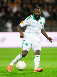 Quincy Owusu-Abeyle of Panathinaikos during football match between NK Maribor and Panathinaikos Athens F.C. (GRE) in 1st Round of Group Stage of UEFA Europa league 2013, on September 20, 2012 in Stadium Ljudski vrt, Maribor, Slovenia. Maribor defeated Panathinaikos 3-0. (Photo By Vid Ponikvar / Sportida)