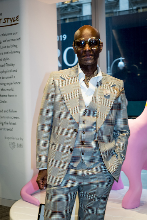 Dapper Dan at the New York Times Styles x Nordstrom Party 2018