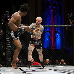 PETER IRVING CATCHES A KICK - UCMMA 34 2 JUNE 2013