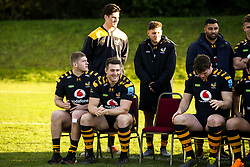 Jack Willis and Ben Harris - Mandatory by-line: Robbie Stephenson/JMP - 18/11/2019 - RUGBY - Broadstreet Rugby Football Club - Coventry , Warwickshire - Wasps Squad Photo