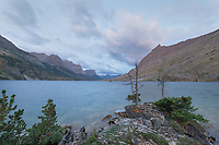 Saint Mary Lake Glacier National Park Montana