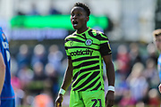 Forest Green Rovers Shawn McCoulsky(21) during the EFL Sky Bet League 2 match between Forest Green Rovers and Grimsby Town FC at the New Lawn, Forest Green, United Kingdom on 17 August 2019.