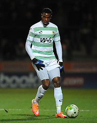 Yeovil Town's Liam Davis  - Photo mandatory by-line: Harry Trump/JMP - Mobile: 07966 386802 - 03/03/15 - SPORT - Football - Sky Bet League One - Yeovil v Walsall - Huish Park, Yeovil, England.
