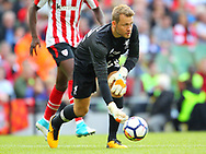 Simon Mignolet of Liverpool during the Pre-season Friendly match at the Aviva Stadium, Dublin<br /> Picture by Yannis Halas/Focus Images Ltd +353 8725 82019<br /> 05/08/2017