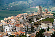 Gran Sasso National Park, Abruzzo, Italy, June 2008. The medieval village of Castel del Monte.  Photo by Frits Meyst/Adventure4ever.com