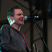 London,England,UK : 17th July 2016 : Sigur Ros preforms at the Citadel Festival 2016 at Victoria Park, London,UK. Photo by See Li
